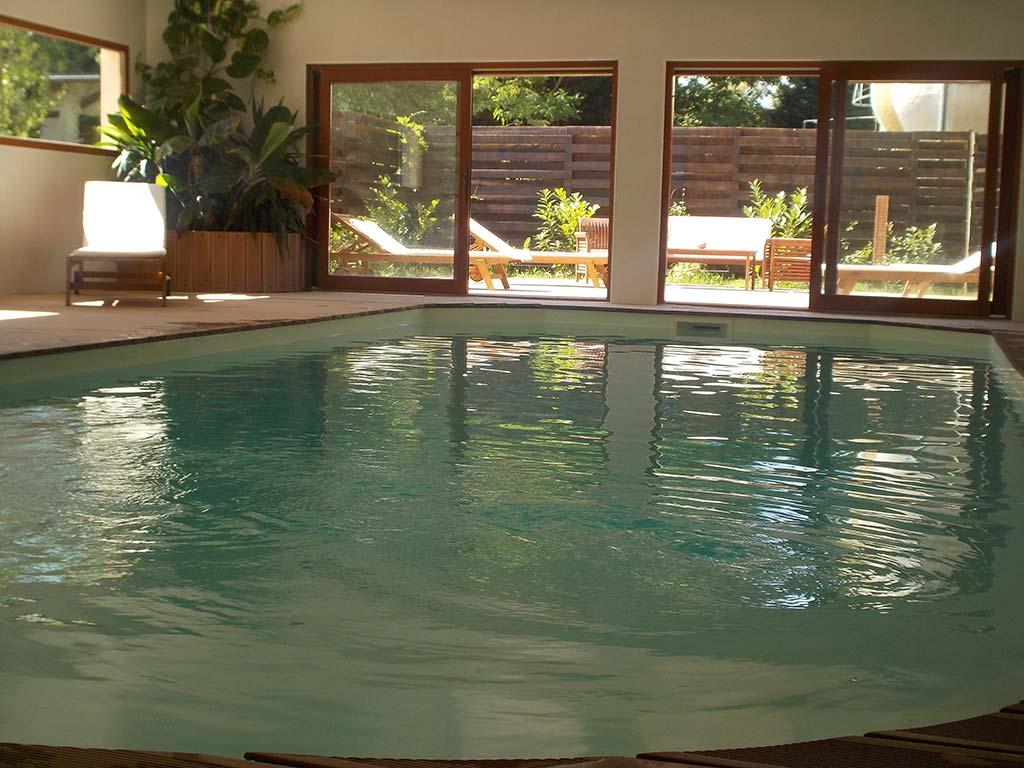 Piscine int rieure chauff e dans g te pr s de reims - Gite bourgogne piscine interieure ...